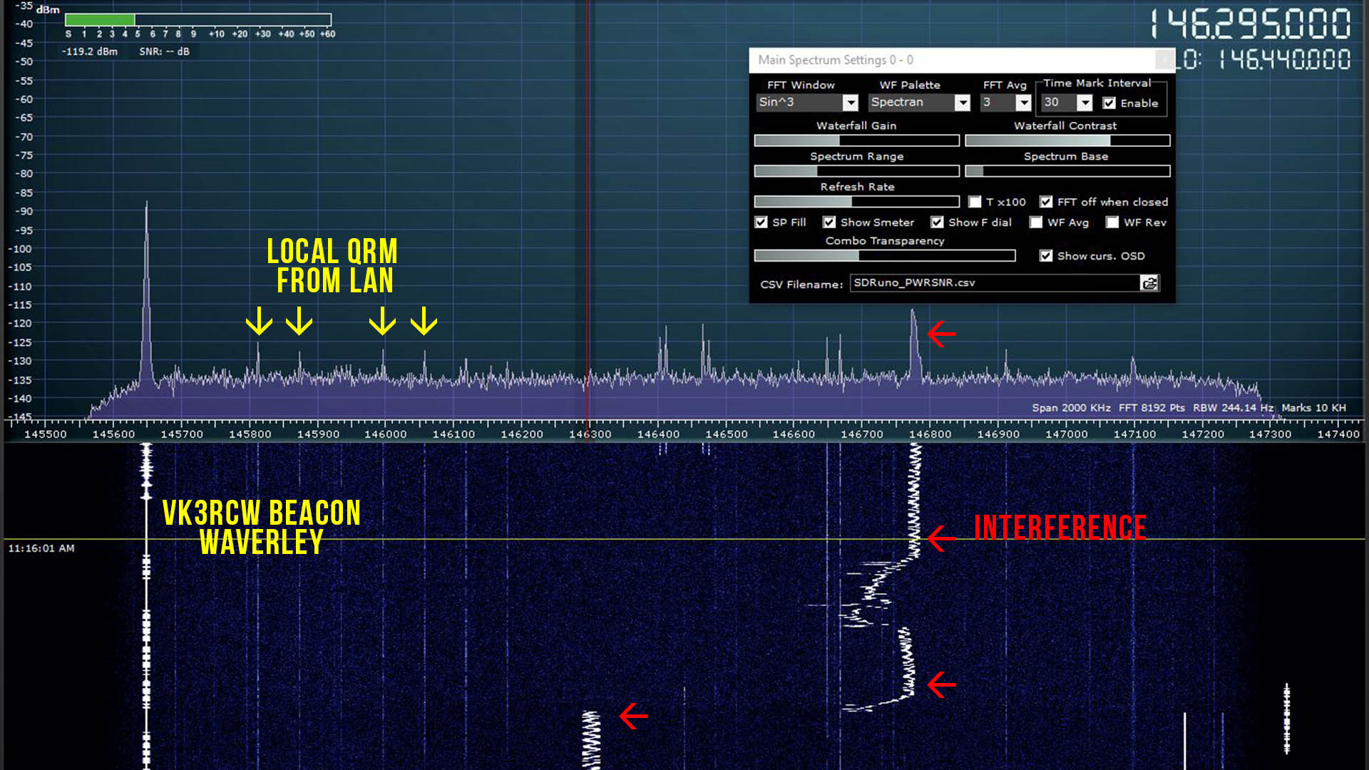 Tracking down VHF Interference on the 2m band