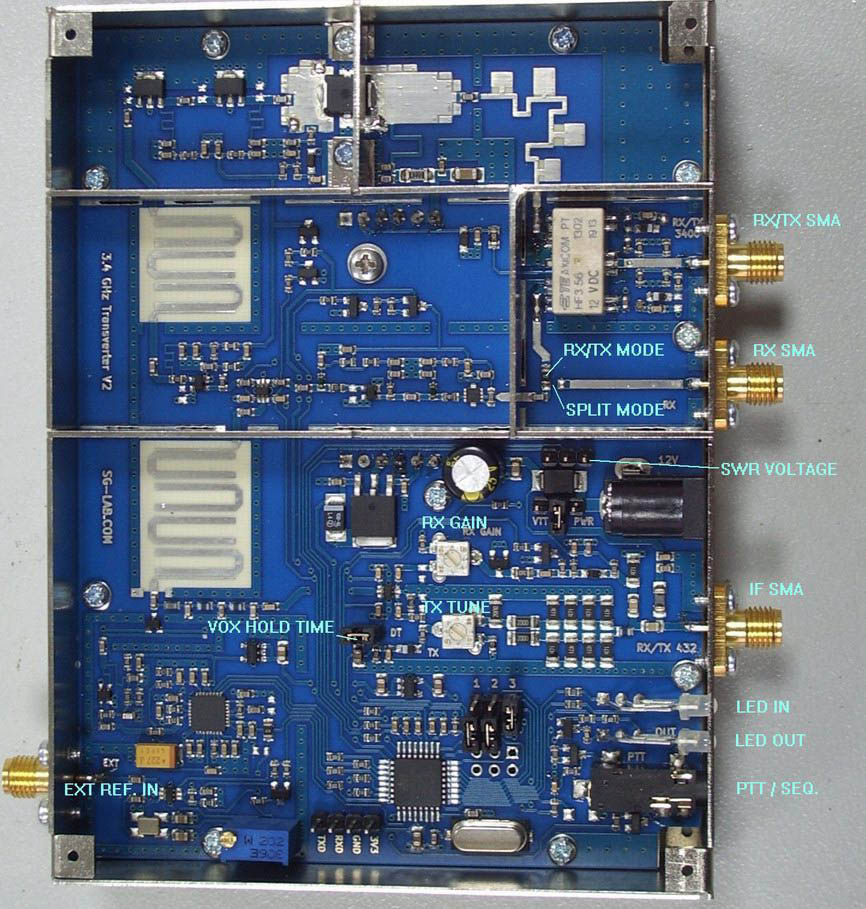 SG Lab 3400 transverter