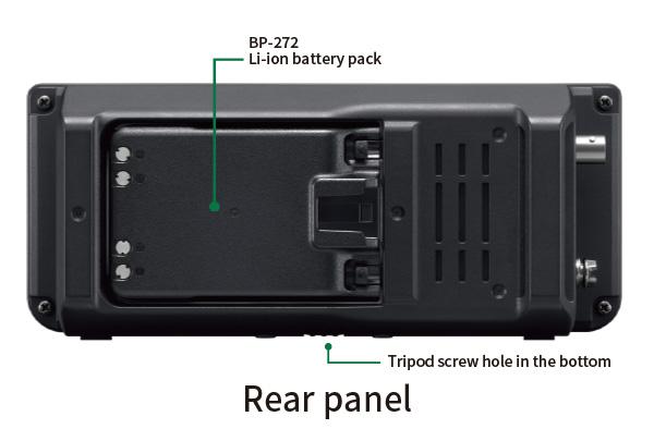 IC-705 Rear Panel