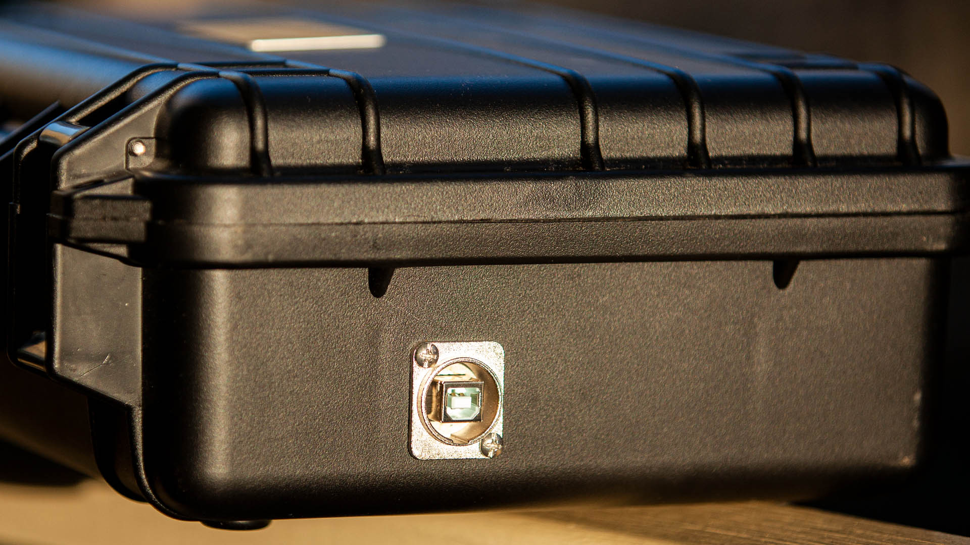 Icom IC-705 All Mode Transceiver USB Pelican Installation