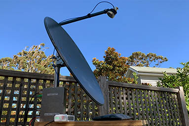 Image of 75cm Offset Dish for 3cm