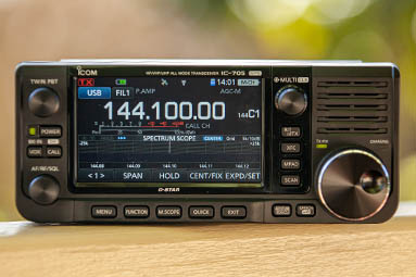 Picture of the Icom IC-705