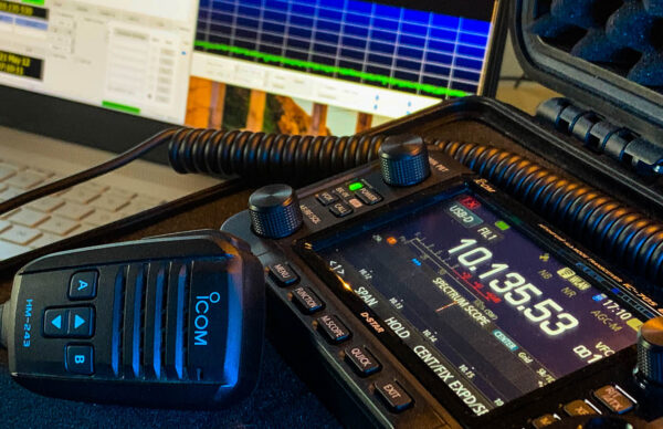 Picture of FT8 on the IC-705