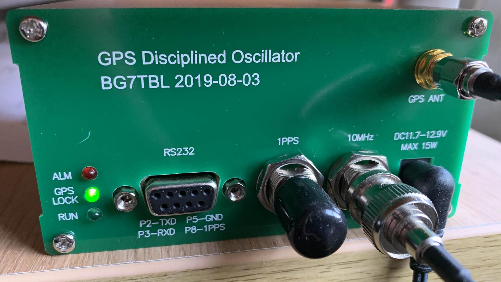Picture of BG7TBL 10MHz GPS Oscillator