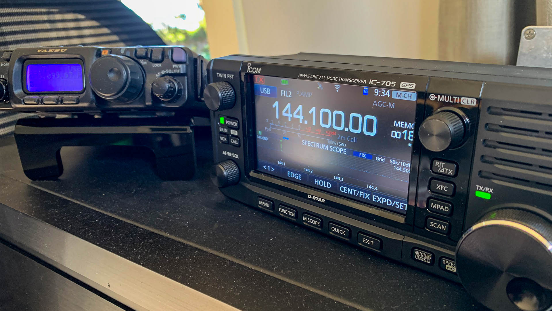 Icom IC-705 All Mode Transceiver and FT-818